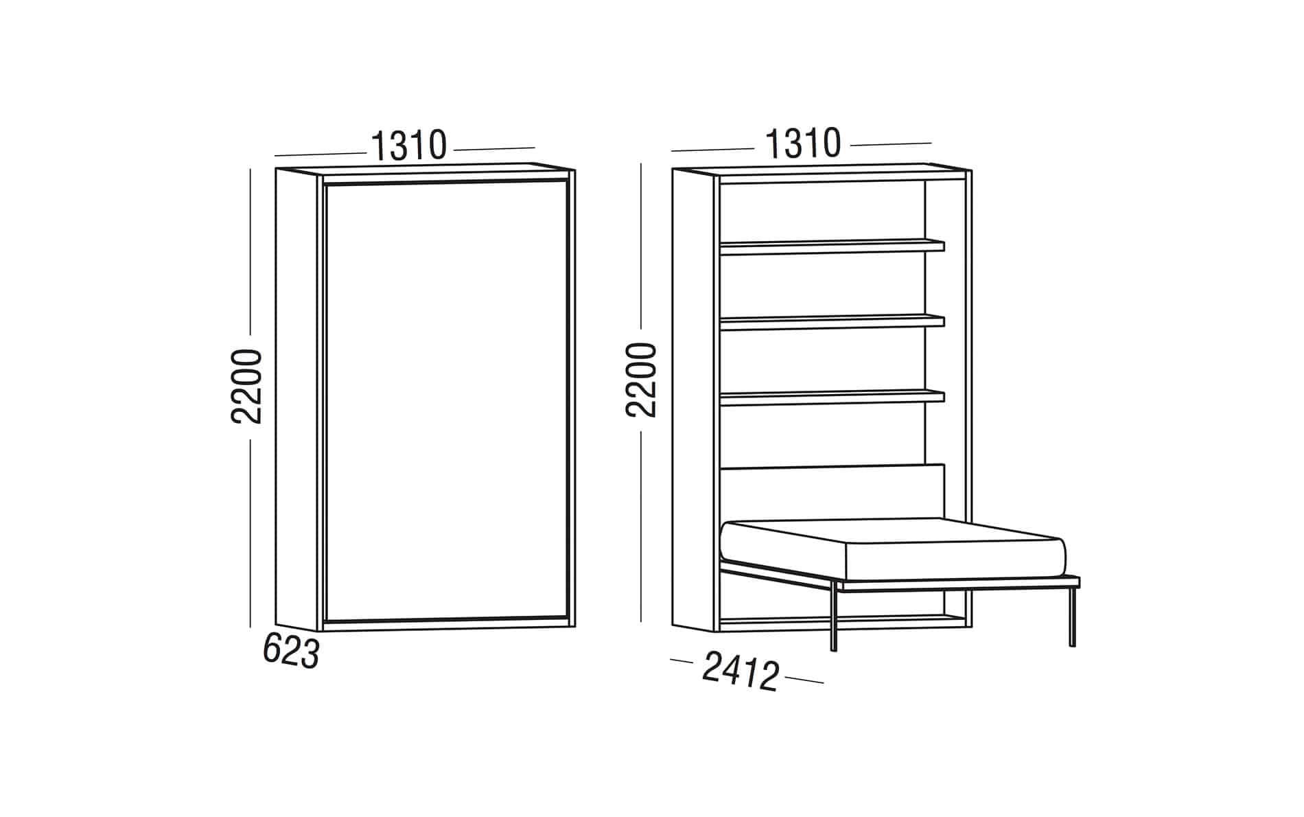schrankbetten online kaufen m bel suchmaschine. Black Bedroom Furniture Sets. Home Design Ideas