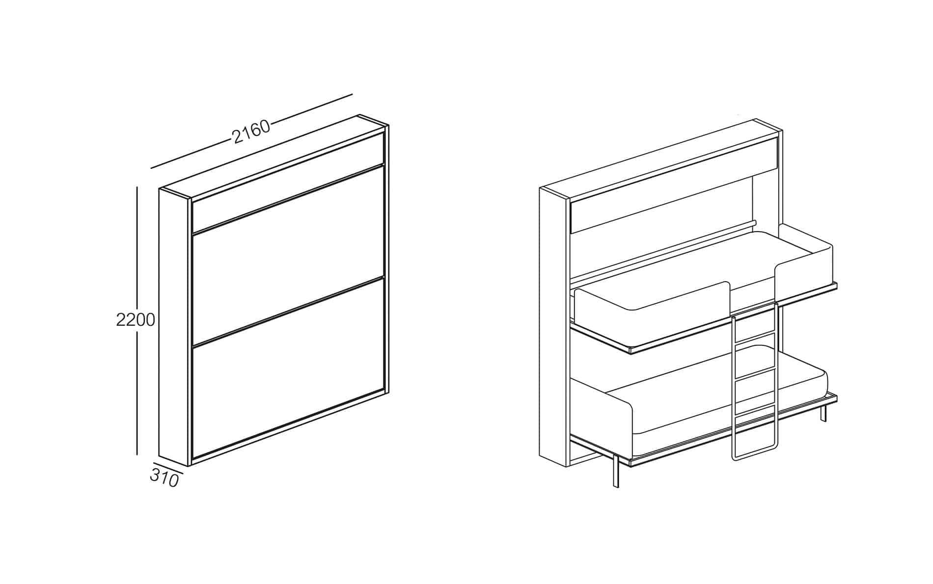etagenbetten online kaufen m bel suchmaschine. Black Bedroom Furniture Sets. Home Design Ideas