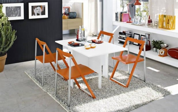 Klappstuhl Skip in Orange