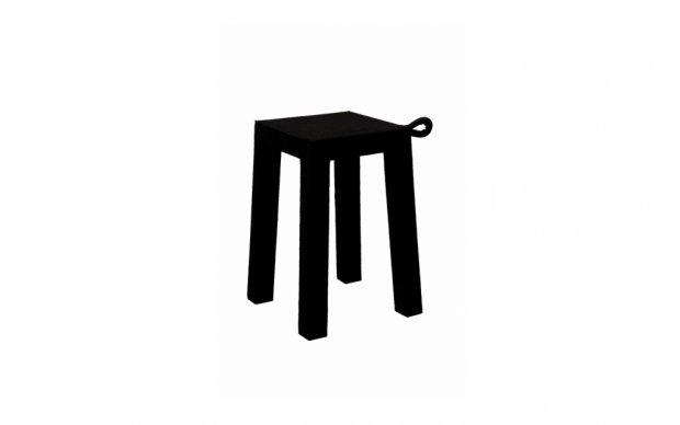 Stuhl Handle (Schwarz)