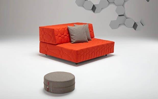 Schlafsofa Persian orange Übersicht