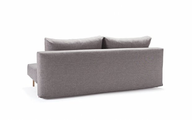 Innovation Schlafsofa Trym grau mixed dance hinten