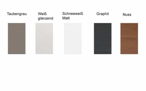 Lowboard Mag 2-Schubladen / 1-Klapptür (Farbpalette)