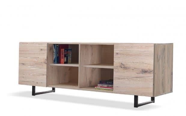 Sideboard Quadra 2-türig (Oliver-B-Casa) natur
