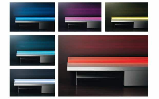 LED TV Wandboard Farben