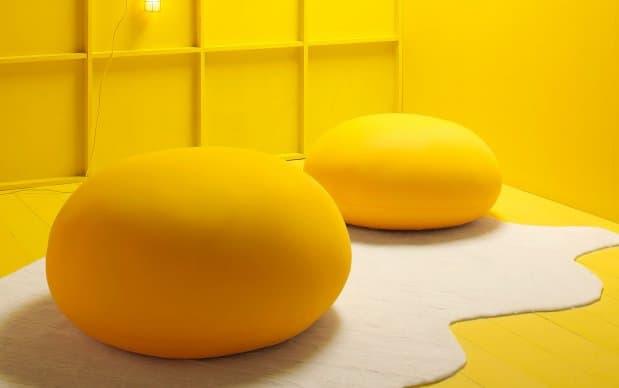Sitzsack Expandpouf Egg Übersicht