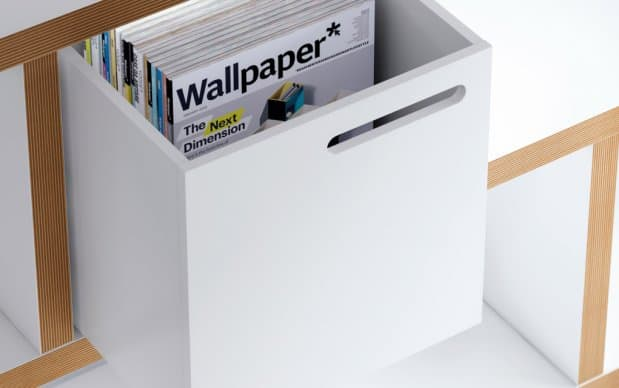 Themahome Berlin Box in weiss