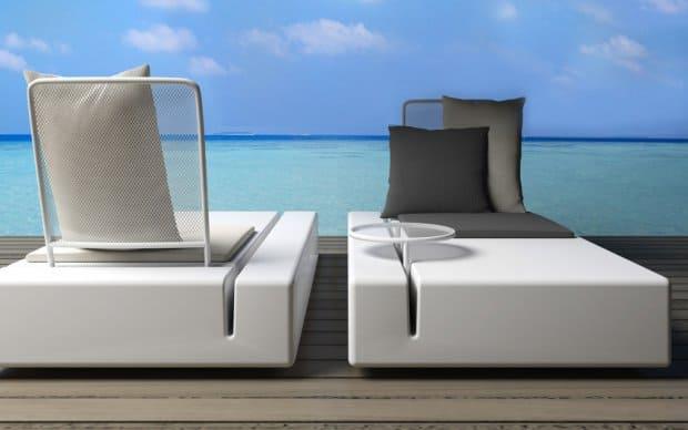 Vondom Kes Sofa Element Links Sonnenliege