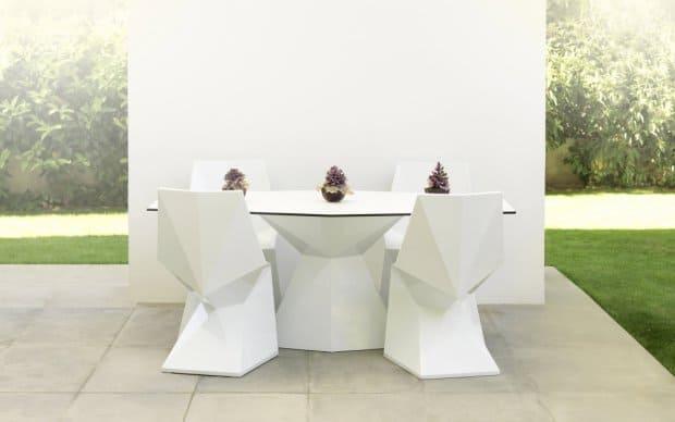 Vondom Vertex Mesa Tisch weiß