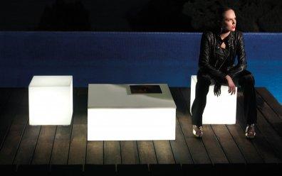 Vondom Quadrat Mesa Couchtisch 80 x 80 cm