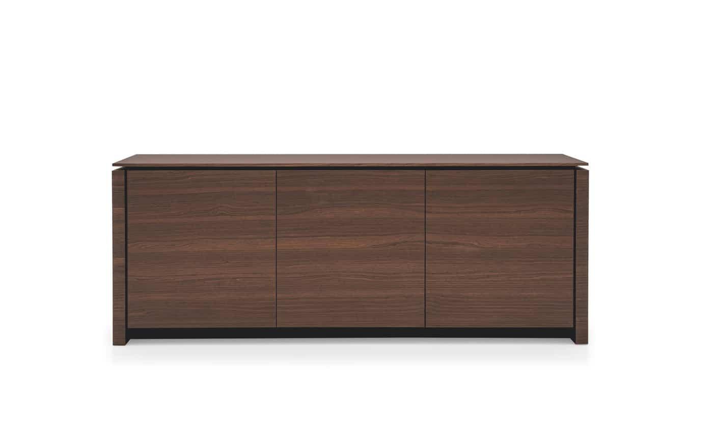 Design Wohnzimmer Schranke : Design Sideboard Mag Wood 3-tuerig H:84 ...