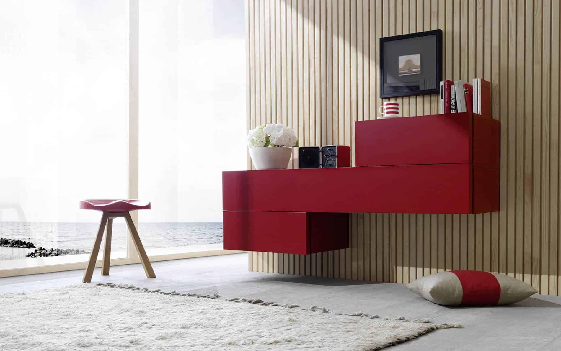 h ngende lowboards online kaufen wohnstation. Black Bedroom Furniture Sets. Home Design Ideas