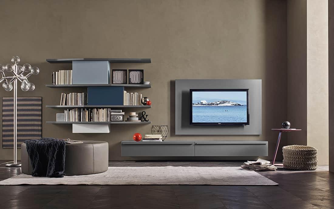 wohnwand design modern g nstig kaufen. Black Bedroom Furniture Sets. Home Design Ideas