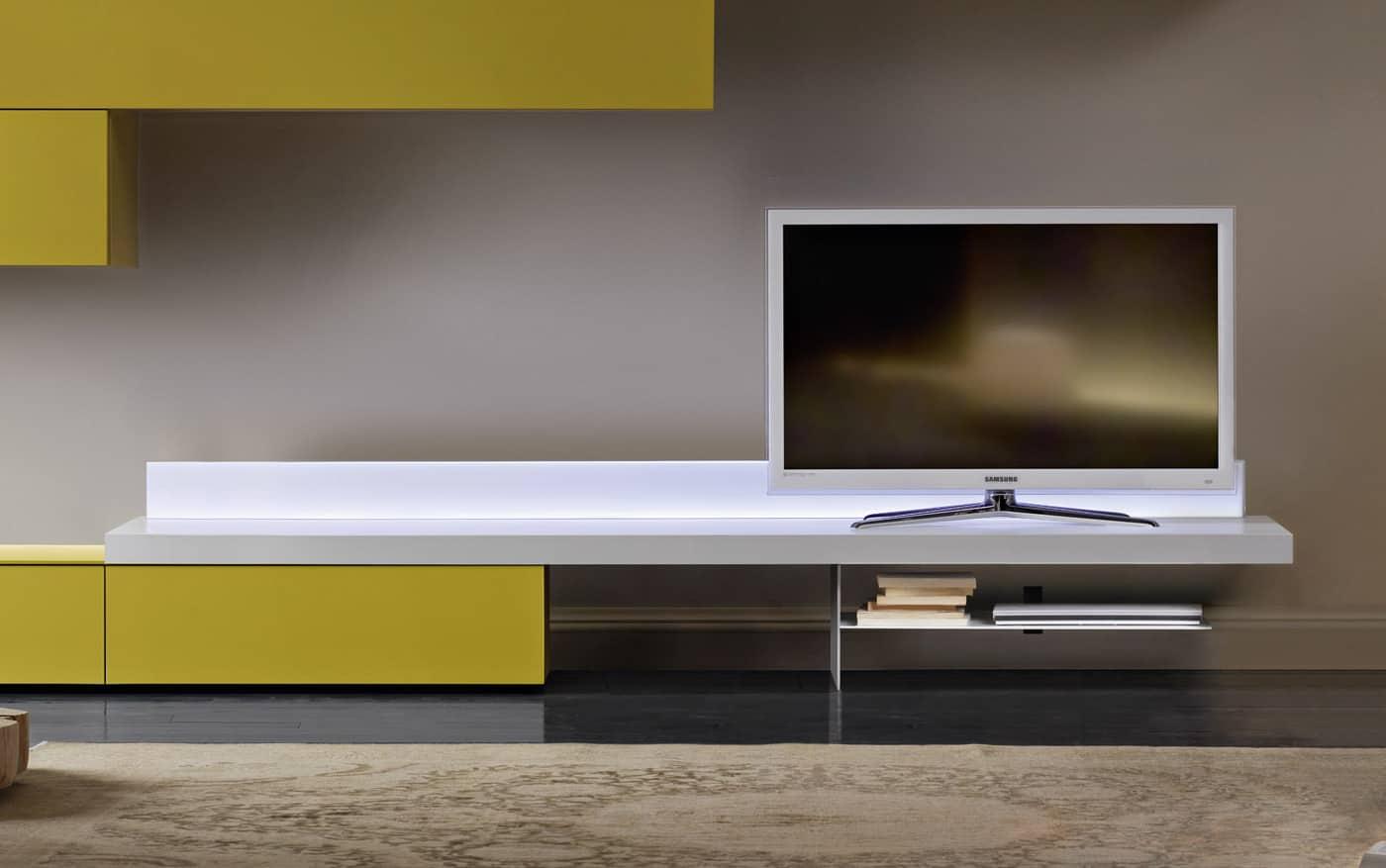Lowboard 240 g nstig kaufen for Wohnwand wobona
