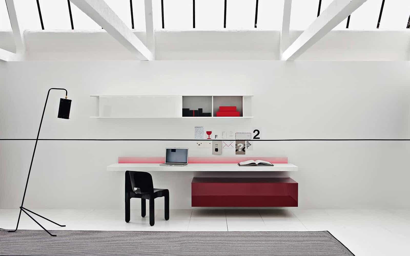 lowboard rot hochglanz g nstig kaufen. Black Bedroom Furniture Sets. Home Design Ideas
