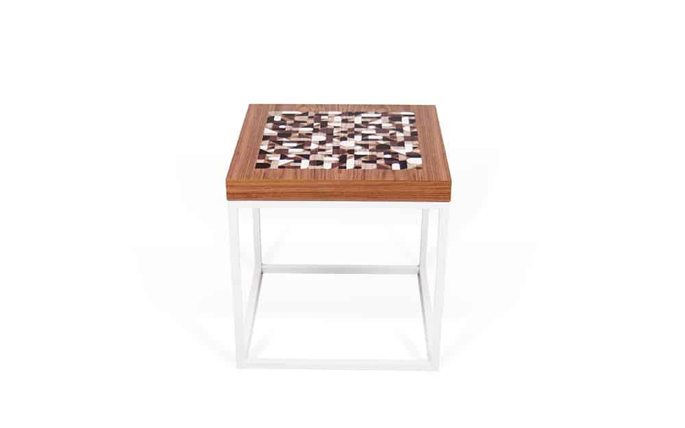 beistelltisch woody massivholz metall von roller ean. Black Bedroom Furniture Sets. Home Design Ideas