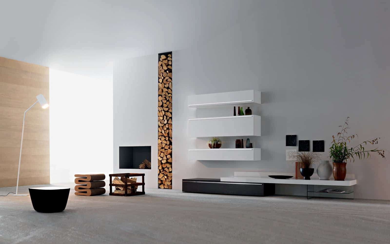 tv wand lampo l2 18 wohnzimmer m bel. Black Bedroom Furniture Sets. Home Design Ideas
