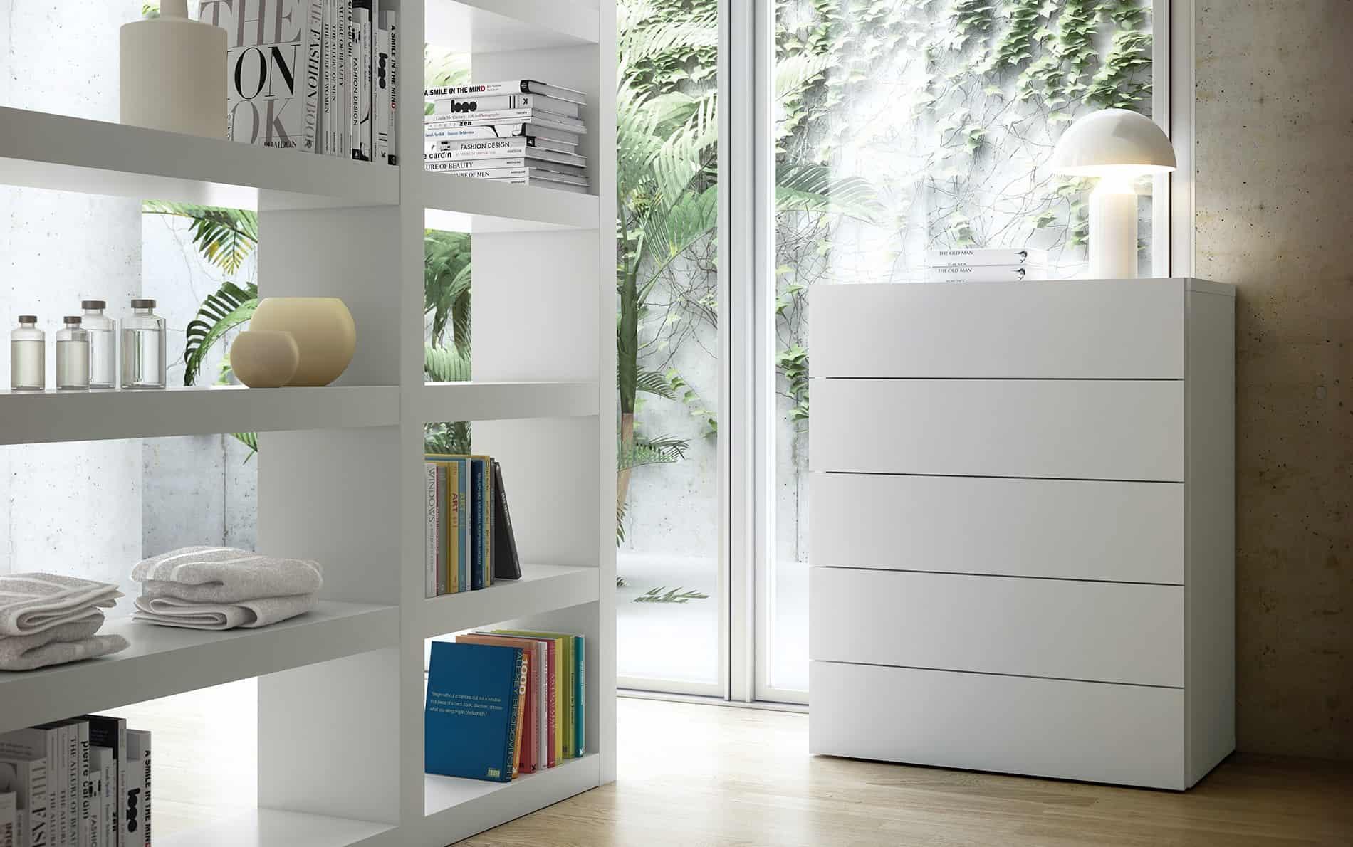 temahome kommode aurora 5 schubladen. Black Bedroom Furniture Sets. Home Design Ideas