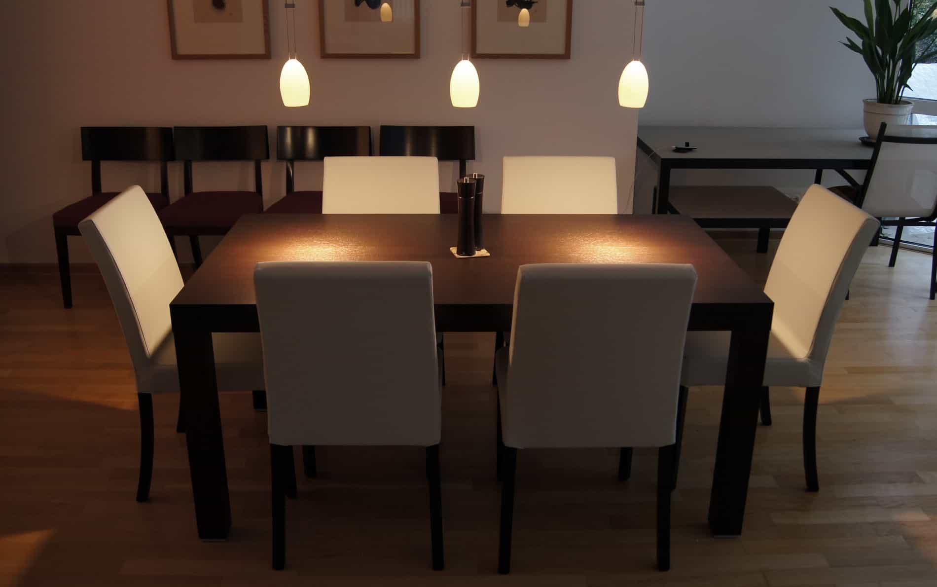 Cheap Dunkles Holz Esszimmer Tische San Giacomo Design Tisch Leonoardo  Nussbaum With Esszimmer Tische
