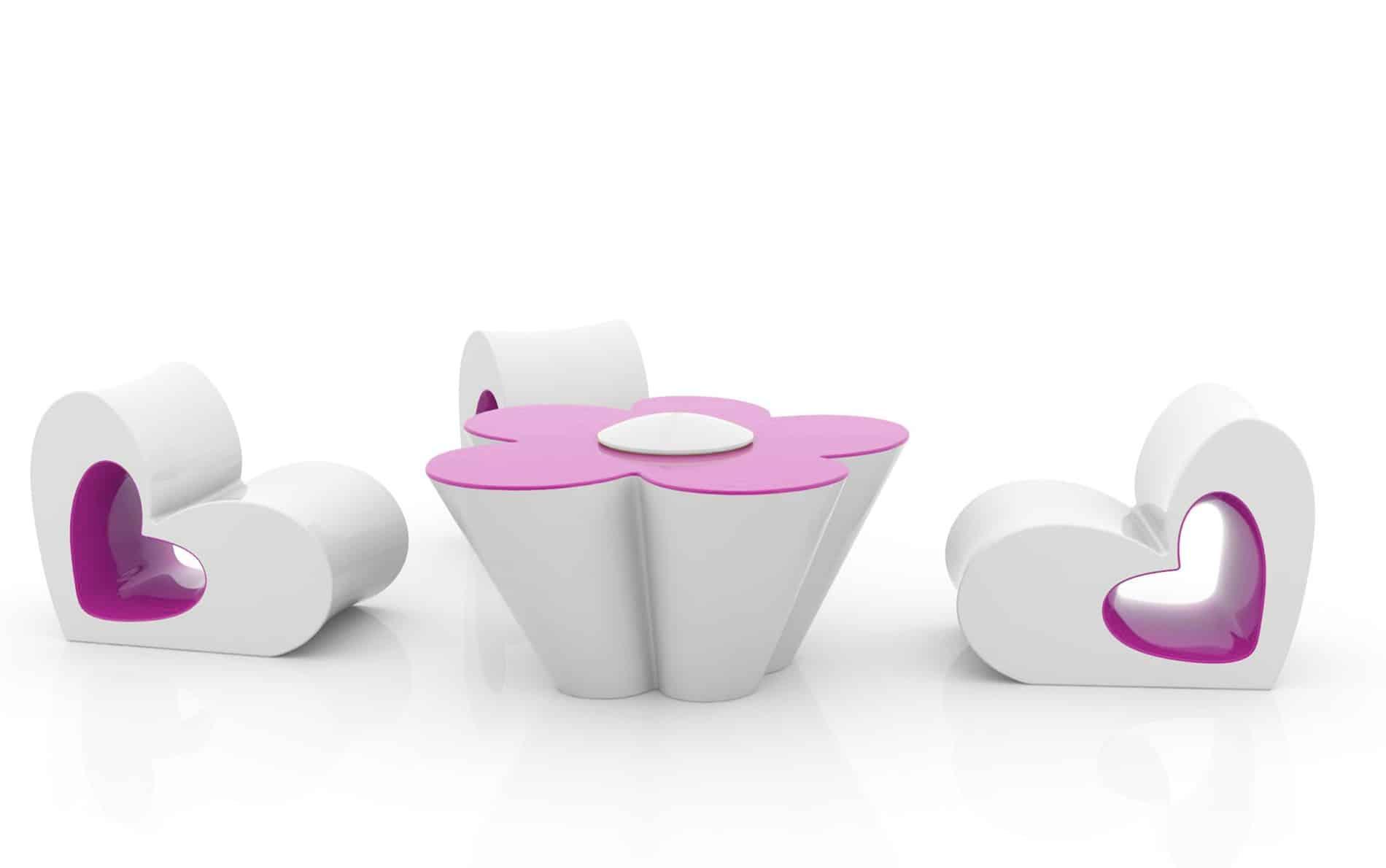 Vondom Agatha Stuhl Und Tisch Design Garten