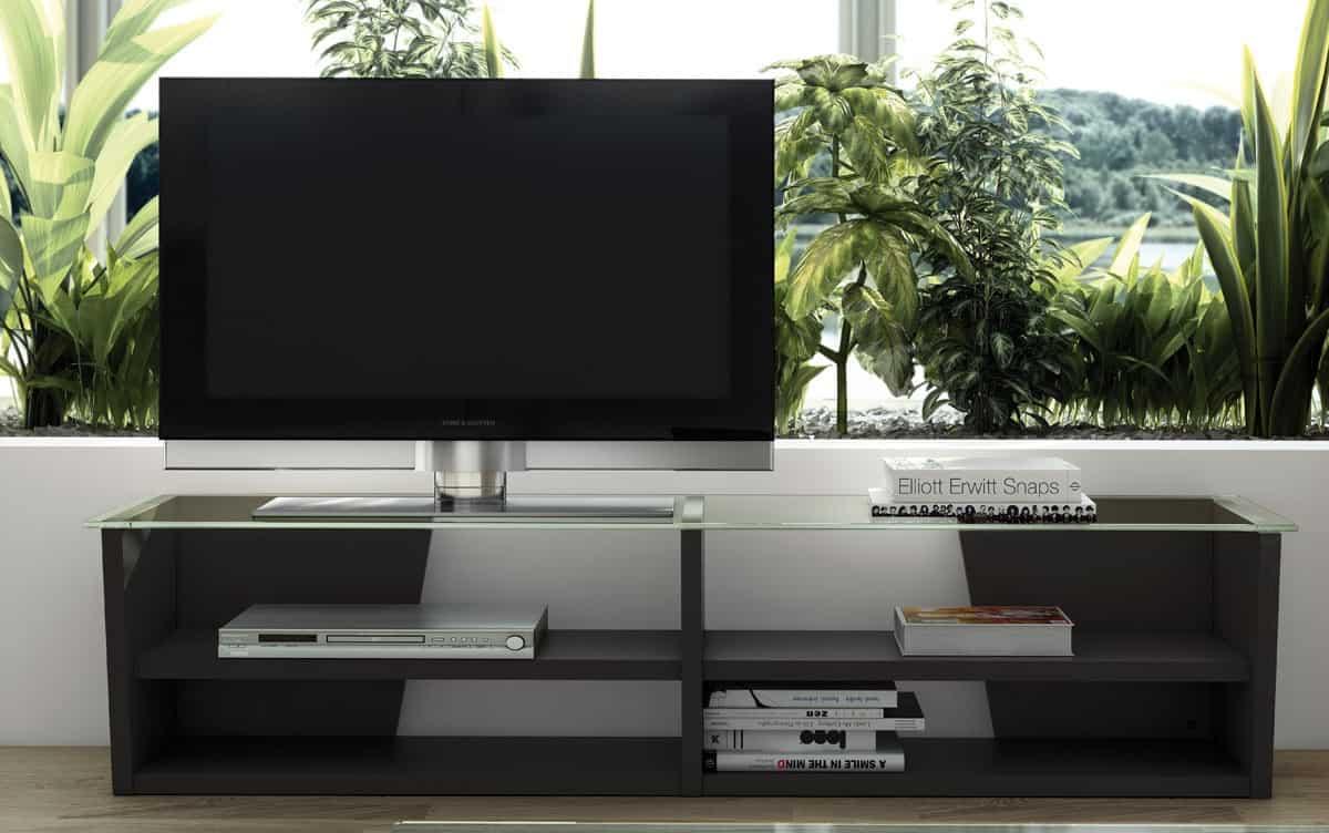 Tv lowboard walnuss inspirierendes design for Ecksofa nordisch