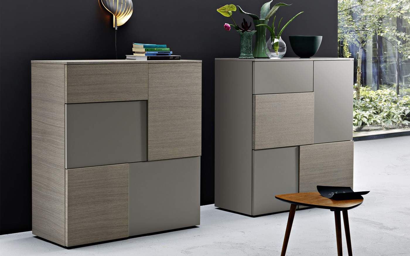 san giacomo highboard incontro 201 1 schublade. Black Bedroom Furniture Sets. Home Design Ideas