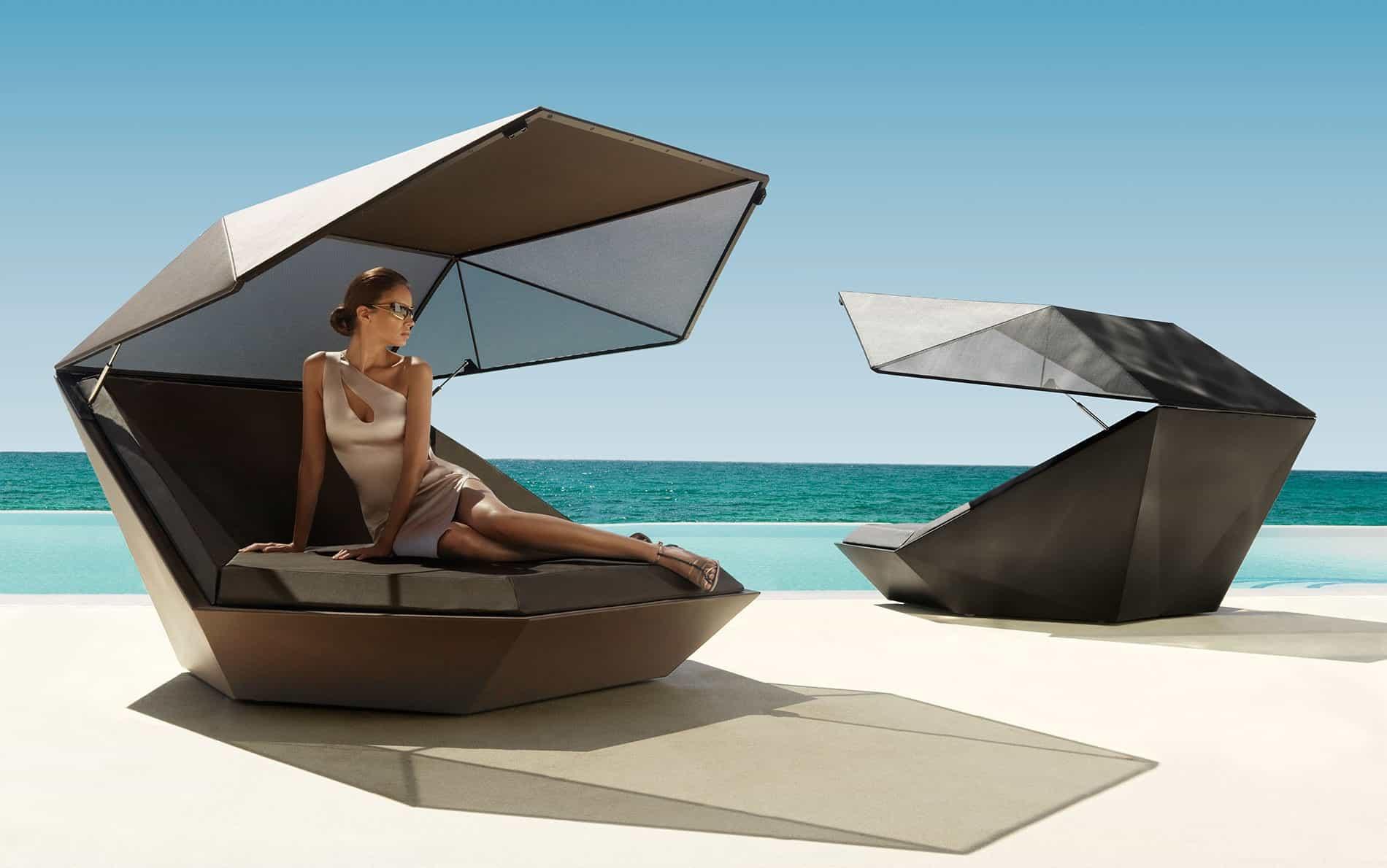 Vondom faz daybed sonnenliege design chaiselounge - Design sonnenliege ...