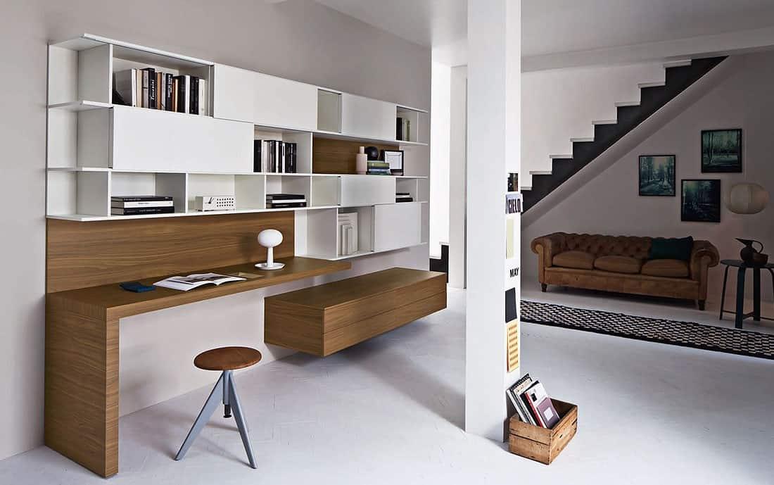 Wohnwand design zentrum und blickfang von h chster eleganz - Wohnwand design ...