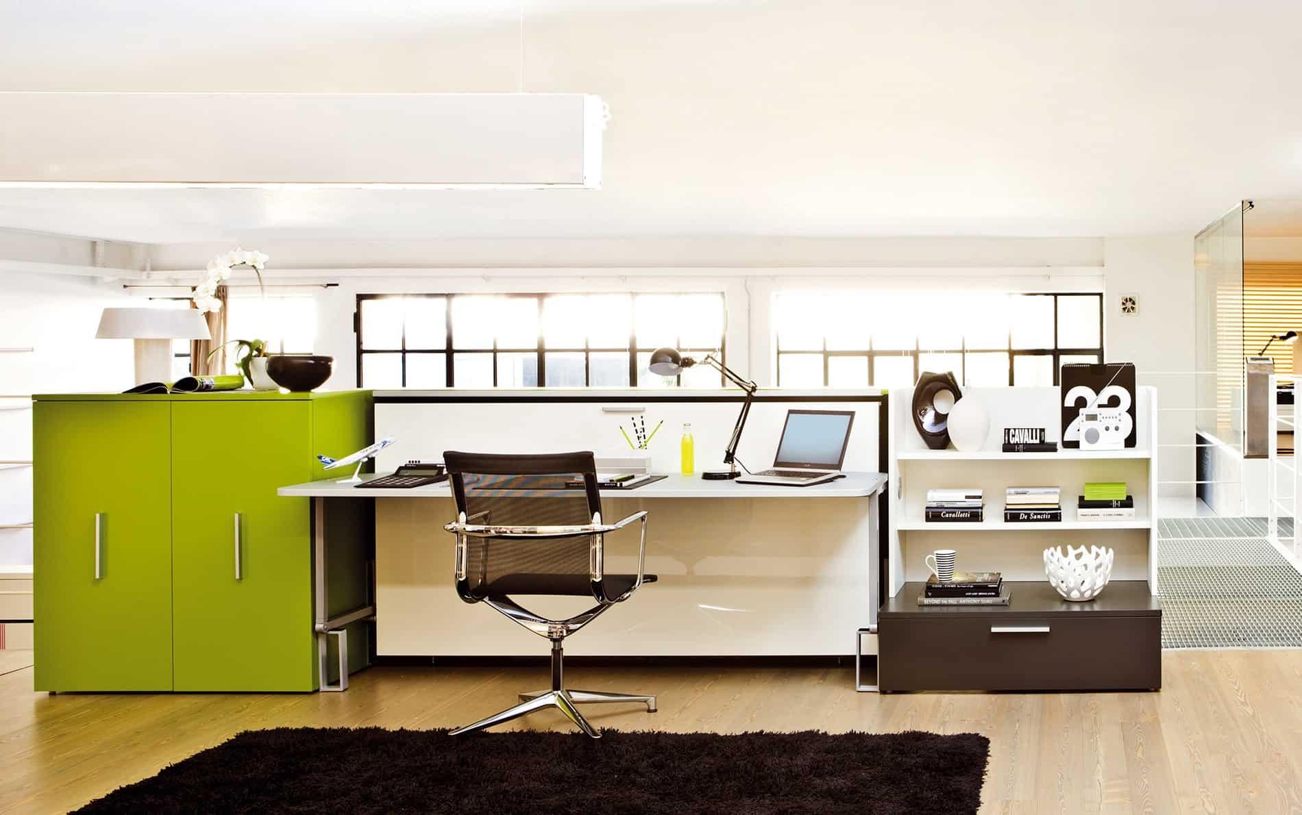 clei schrankbett mit tisch designer schrankbett mit tisch. Black Bedroom Furniture Sets. Home Design Ideas