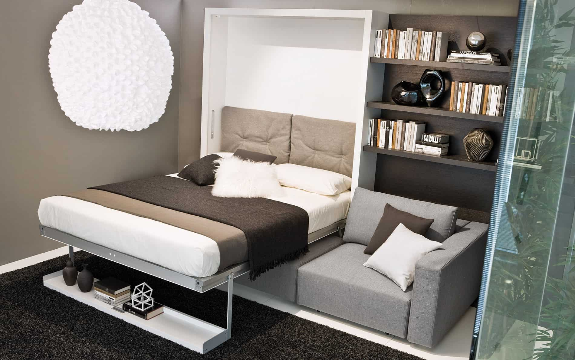 schrankbett mit integriertem sofa elegant schrankwand mit bett stunning schrank bett with. Black Bedroom Furniture Sets. Home Design Ideas