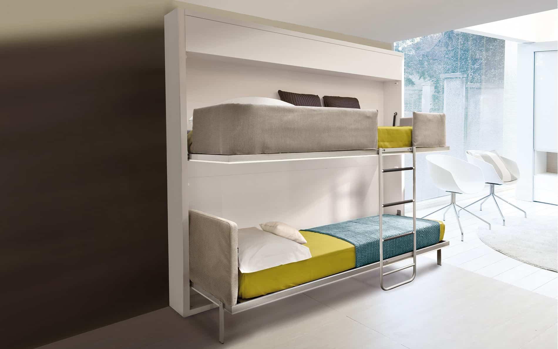 Schrankbett kinderzimmer das beste aus wohndesign und - Etagenbett interio ...