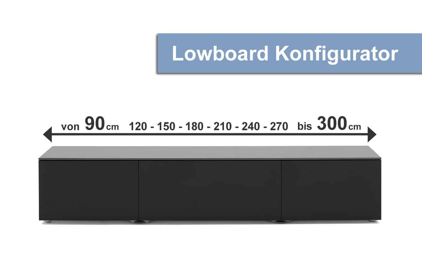 airline lowboard designer konfigurator. Black Bedroom Furniture Sets. Home Design Ideas