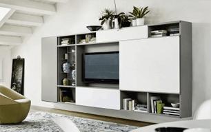 Designer TV Wände