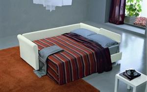 Meta Design Schlafsofa Mago Polyesterbezug als Doppelbett