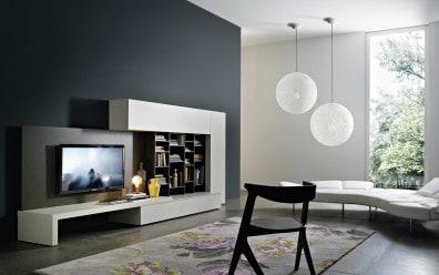 designer wohnwnde bei wohnstation stehend - Design Fernsehwnde