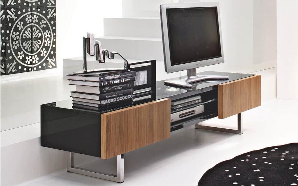 lowboard seattle edles lowboard von calligaris online bestellen. Black Bedroom Furniture Sets. Home Design Ideas