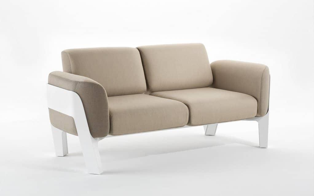 ego paris bienvenue sofa zweisitzer design garten. Black Bedroom Furniture Sets. Home Design Ideas