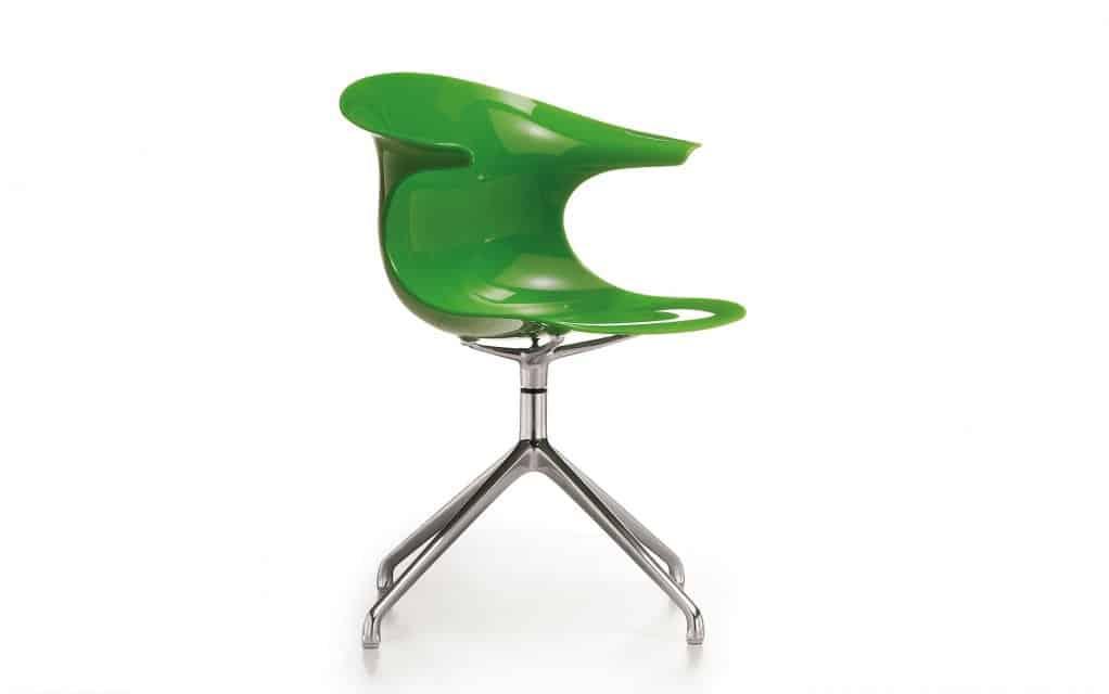 infiniti design stuhl loop swivel. Black Bedroom Furniture Sets. Home Design Ideas