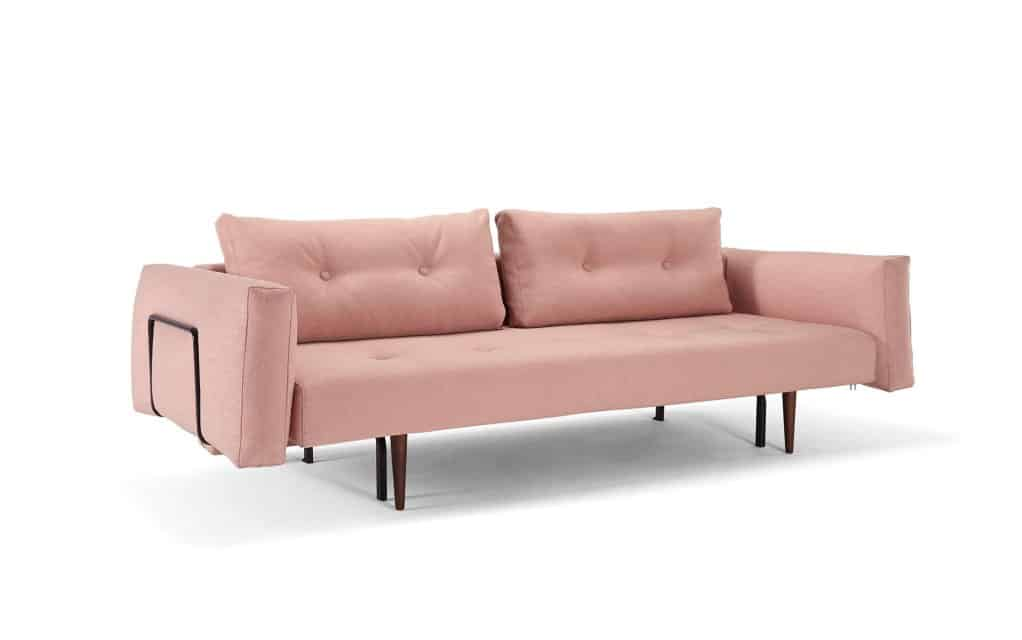 Innovation schlafsofa bettsofa recast 140x200 cm for Schlafsofa mit lehne