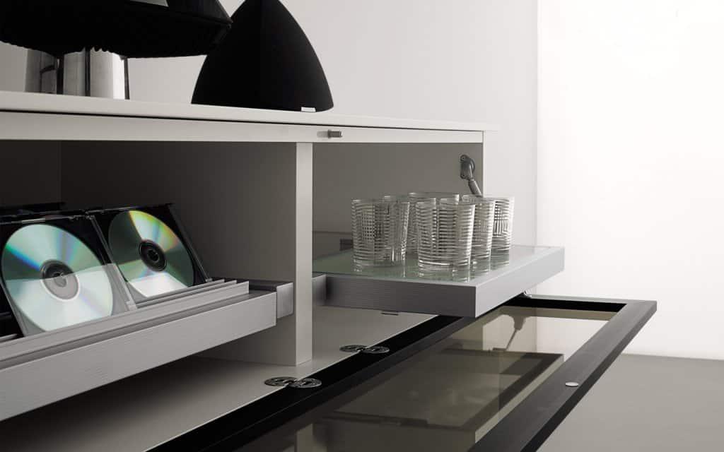 san giacomo h ngeschrank schubladen klappfach. Black Bedroom Furniture Sets. Home Design Ideas