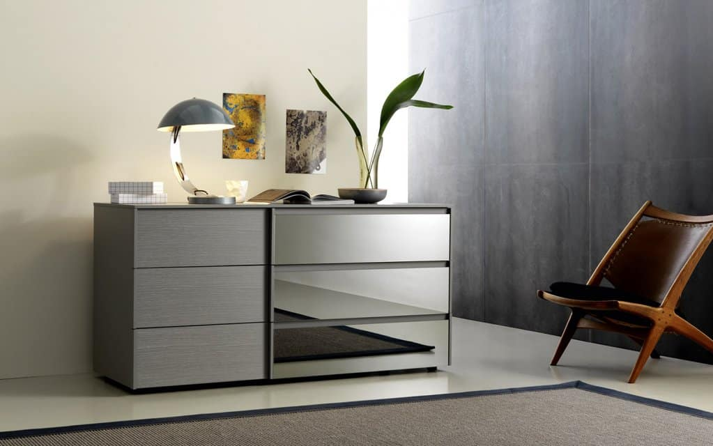 san giacomo kommode dado glas 6 schubladen. Black Bedroom Furniture Sets. Home Design Ideas