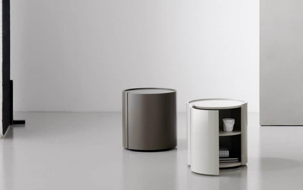 san giacomo runder nachttisch circus. Black Bedroom Furniture Sets. Home Design Ideas