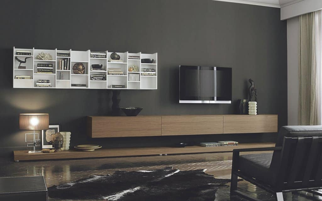 san giacomo design tv wohnwand lampo 15. Black Bedroom Furniture Sets. Home Design Ideas