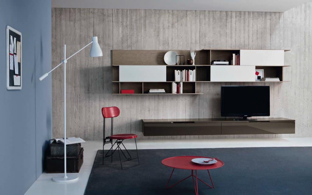 tv wand lampo l2 05 wohnzimmer m bel. Black Bedroom Furniture Sets. Home Design Ideas