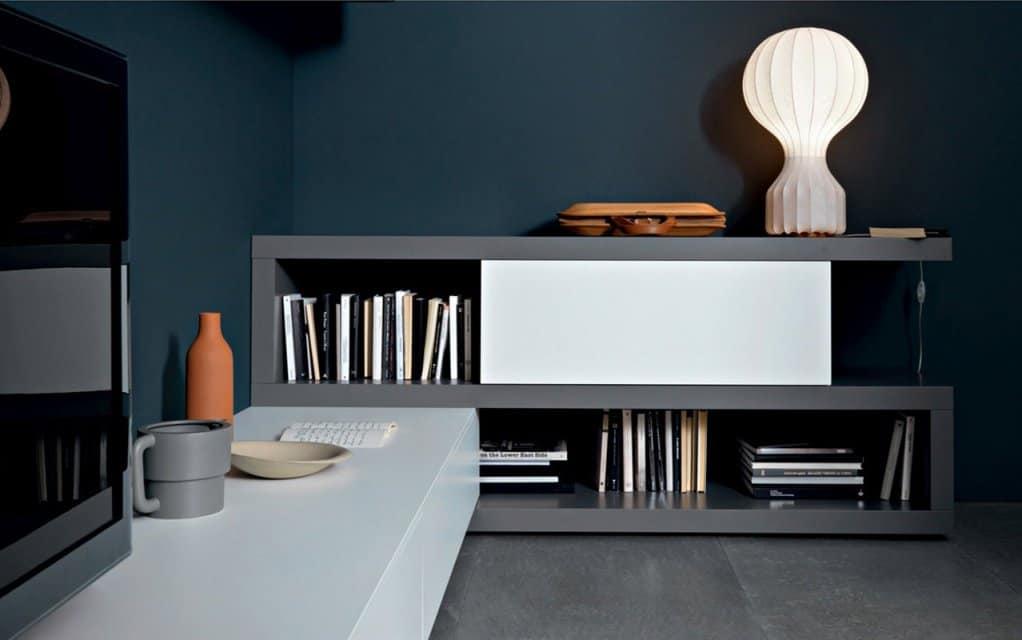 tv wand lampo l2 23a eck lowboard. Black Bedroom Furniture Sets. Home Design Ideas