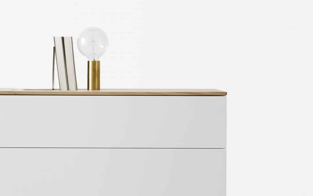 voice arctic lowboard 180 cm breit mit 5 schubladen. Black Bedroom Furniture Sets. Home Design Ideas