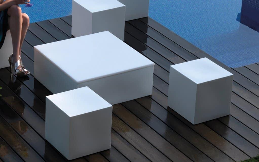 Vondom quadrat mesa couchtisch design 80x80 for Design couchtisch 80x80