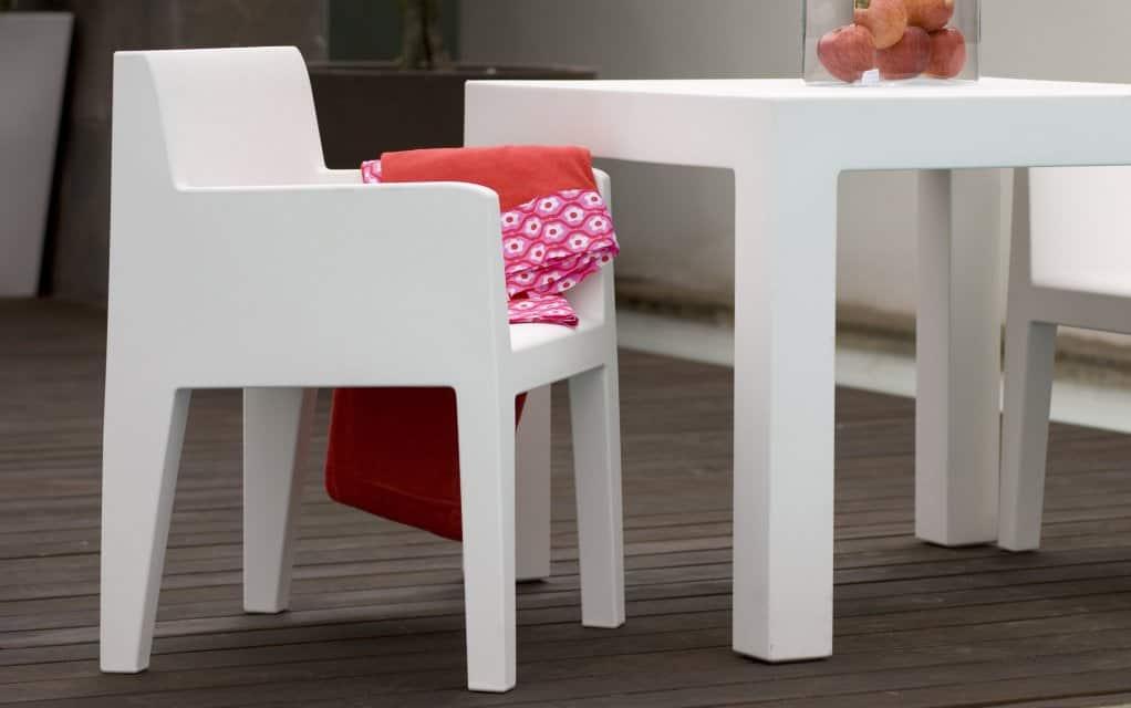 vondom jut sillon gartenstuhl mit armlehne. Black Bedroom Furniture Sets. Home Design Ideas