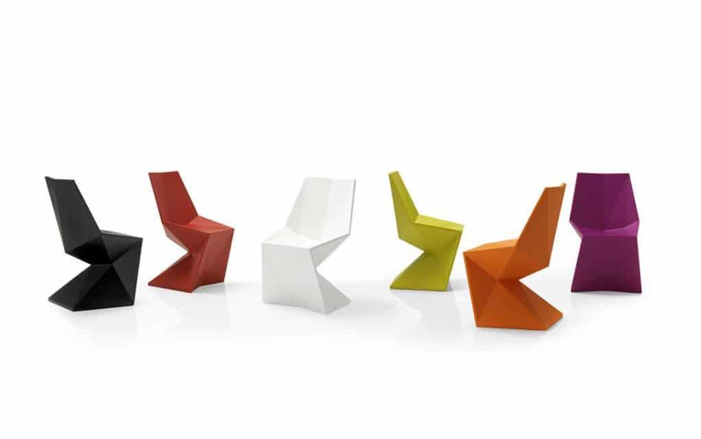 Origami Möbel vondom vertex silla stuhl gartenmöbel