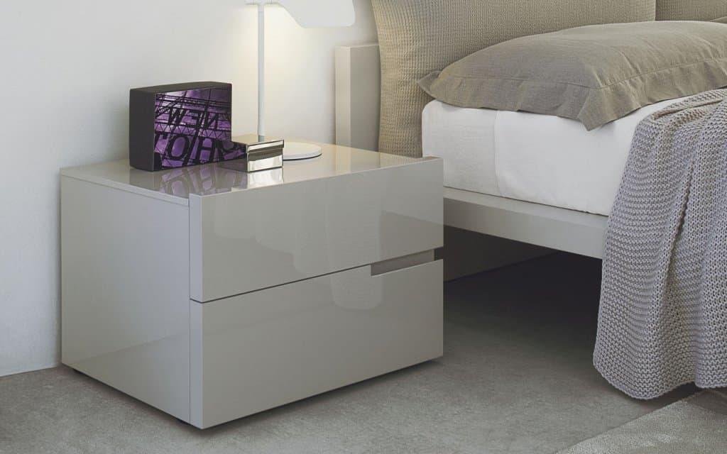 san giacomo nachttisch breccia 330 mit 2 schubladen. Black Bedroom Furniture Sets. Home Design Ideas